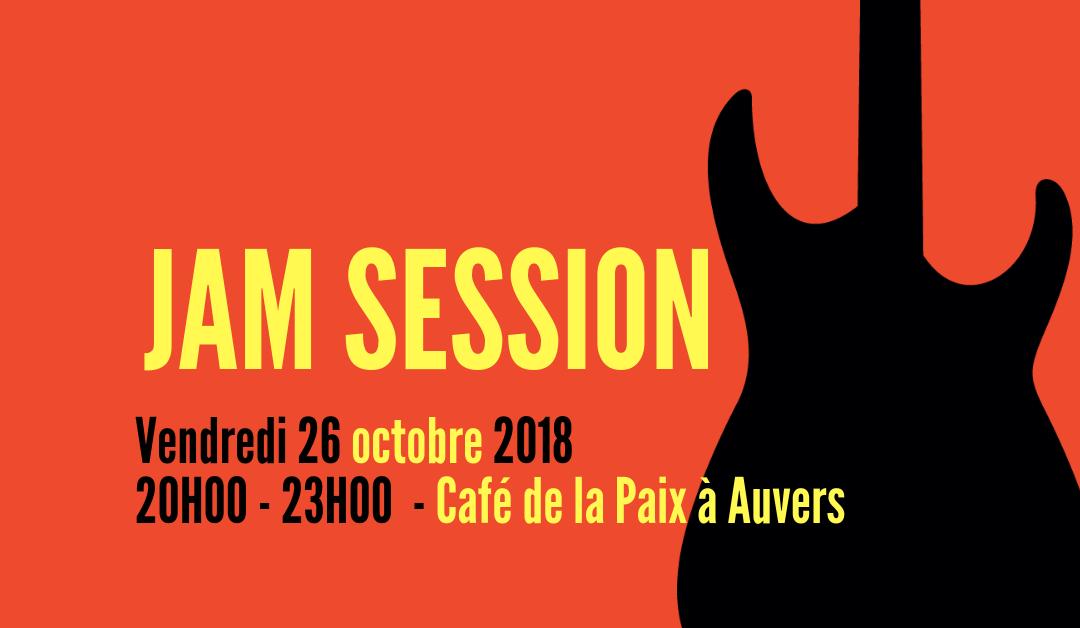 Jam Session au Café de la Paix à Auvers sur Oise