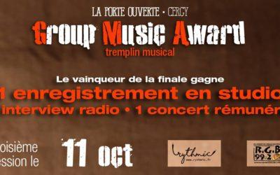 Tremplin musical le 11 octobre 2018