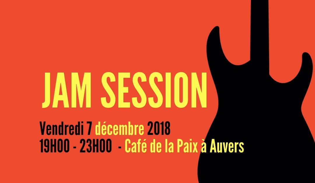Jam Session Rythmic au café de la Paix le 7 décembre 2018