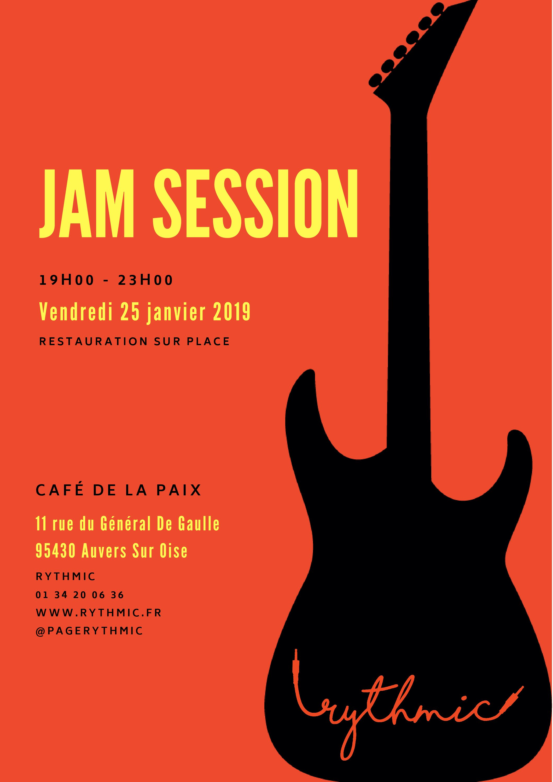 Jam Session 25 janvier 2019