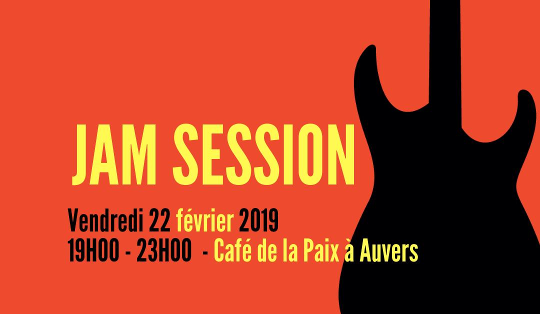 Jam session café de la Paix 22 février 2019
