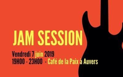 Jam session Café de la Paix – 7 Juin 2019
