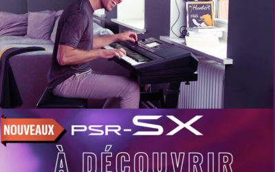 Démonstration Yamaha PSR-SX le 8 novembre à Osny