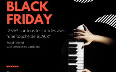   : BLACK FRIDAY :  